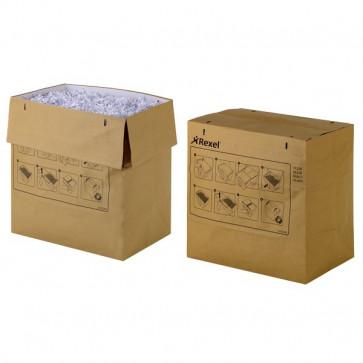 Sacchi in carta per distruggidocumenti per grandi volumi RLS32 Rexel 2102248 (conf.50)
