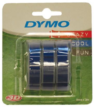 Nastri Dymo per etichettatrici a rilievo Dymo blu S0847740 (conf.3)