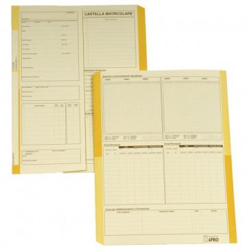 Cartellina matricolare impiegati 4company avorio 32,5x25,5 cm 225 g/mq 4075 (conf.50)