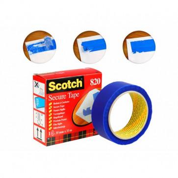 Nastro Scotch® Secure Tape 35 mm x 33 m blu 49300