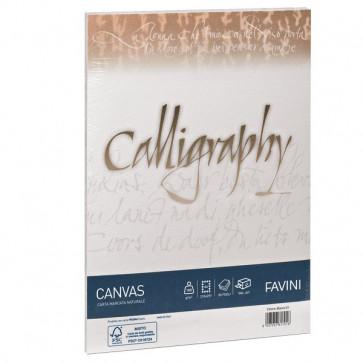 Calligraphy Canvas Ruvido Favini avorio 12x18 cm 100 g A57Q417 (conf.25)