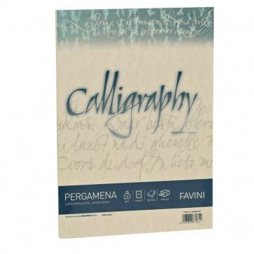Calligraphy Pergamena Liscio Favini crema fogli A4 190 g A692084 (conf.50)