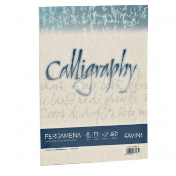 Calligraphy Pergamena Liscio Favini naturale fogli A4 190 g A69Q084 (conf.50)