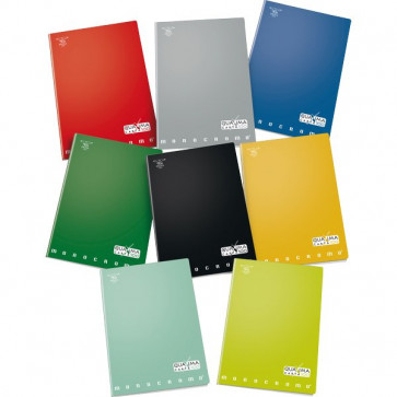Quaderno A4 Monocromo 100 Pigna A4 5 mm (Quadretti) 36 ff +R 02217805M