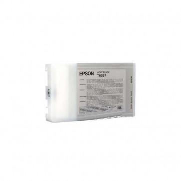 Originale Epson C13T603700 Cartuccia inkjet alta capacità ink pigmentato ULTRACHROME K3 T6037 nero chiaro