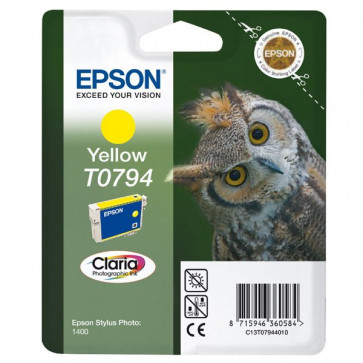 Originale Epson C13T07944010 Cartuccia inkjet blister RS CLARIA giallo