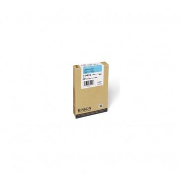 Orig. Epson C13T603500 Cartuccia inkjet alta cap. ink pigmentato ULTRACHROME K3 T6035 ciano chiaro
