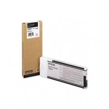 Orig. Epson C13T606100 Cartuccia inkjet alta cap. ink pigmentato ULTRACHROME K3 T6061 nero fotografico