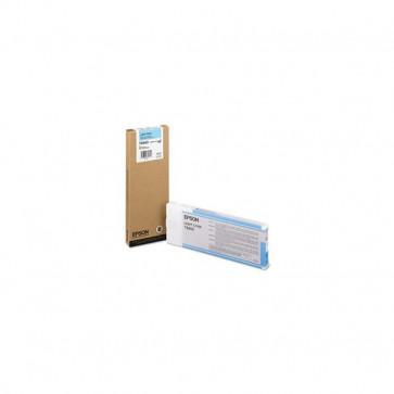 Orig. Epson C13T606500 Cartuccia inkjet alta cap. ink pigmentato ULTRACHROME K3 T6065 ciano chiaro