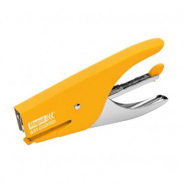 Cucitrice a pinza Supreme S51 Soft Grip Rapid giallo 10538743
