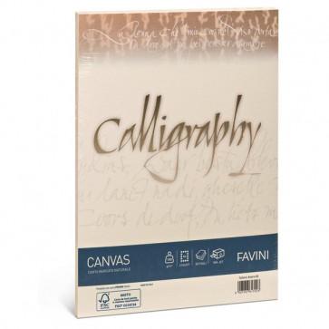 Calligraphy Canvas Ruvido Favini avorio 11x22 cm 100 g A57Q414 (conf.25)