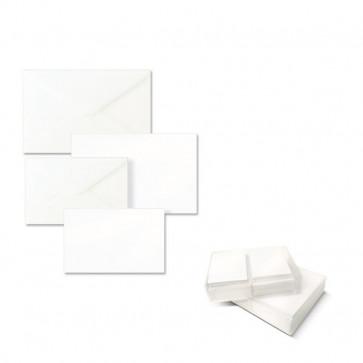 Biglietti e buste Ellebi Sadoch Dalmazia 7,5x11 cm bianco 8304 (conf.100)