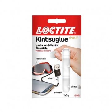 Pasta modellabile Kintsuglue Loctite bianco 3x5 g 2239174 (conf.3)