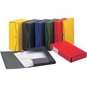 Scatola archivio Project King Mec dorso 15 cm 25x35 cm rosso 00025011 (conf.5)
