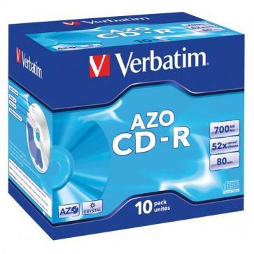 CD Verbatim Verbatim CD-R Jewel case 52x 43327 (conf.10)