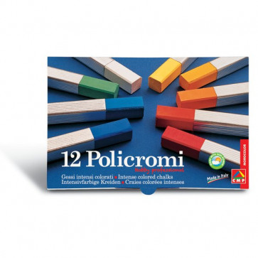 Gessi policromi Primo - 14,5x9,5x12,2 cm - 13x13x80 mm - 020GC12I (conf.12)