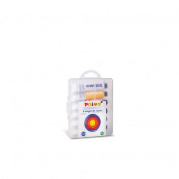 Tempera tubetti alluminio Primo - 35x17x11,5 cm - 18 ml - assortiti - 745T6GAP (conf.6)