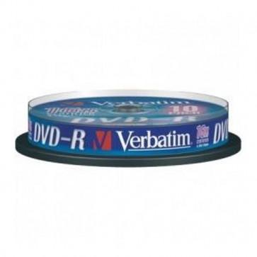 DVD Verbatim  DVD-R 4,7 Gb 16x Spindle 43523 (conf.10)
