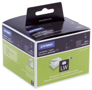 Etichette per Dymo LabelWriter permanenti 89x36 mm trasparente S0722410 (pz.1x260)