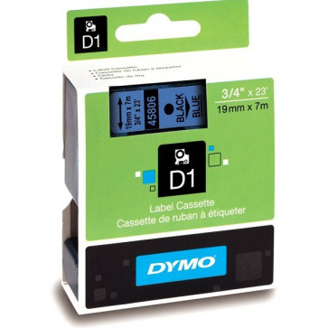 Nastri Dymo D1 19 mm x 7 m nero/blu S0720860 (ex 45806)