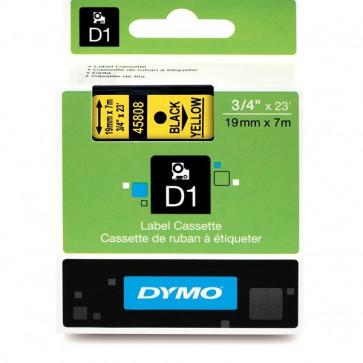 Nastri Dymo D1 19 mm x 7 m nero/giallo S0720880 (ex 45808)