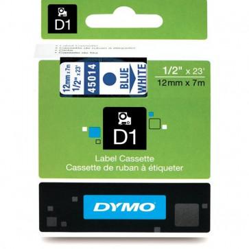 Nastri Dymo D1 12 mm x 7 m blu/bianco S0720540 (ex45014)