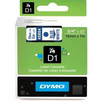 Nastri Dymo D1 19 mm x 7 m blu/bianco S0720840 (45804)