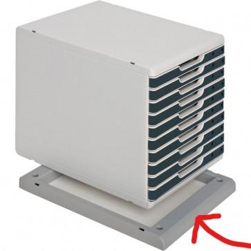 Base di sollevamento per cassettiera Sistema MODULO A4 Multiform grigio 28841D