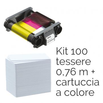 Consumabili per Badgy Kit di stampa composto da nastro di stampa multicolore CBGP0001C