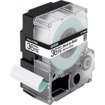 Nastro per etichettatrice LC Epson 36 mm x 9 m nero/bianco C53S628403
