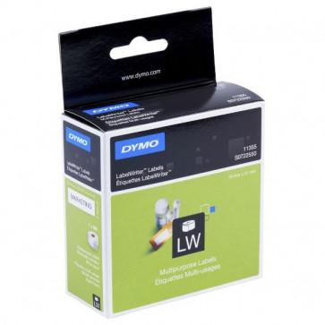 Etichette per Dymo LabelWriter removibili 51x19 mm bianco S0722550 (pz.1x500)(ex11355)