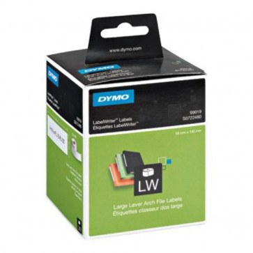 Etichette per Dymo LabelWriter permanenti 190x59 mm bianco S0722480 (pz.1x110)(ex 99019)