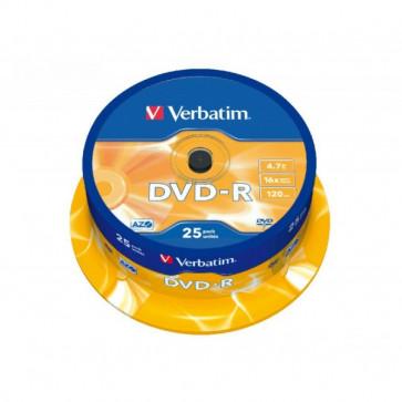 DVD Verbatim  DVD-R 4,7 Gb 16x Spindle 43522 (conf.25)