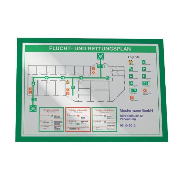 Cornici adesive magaframe durable a3 verde 4873 05 conf - Cornici ufficio ...