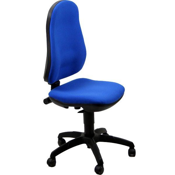 Sedia ufficio ergonomica Jazz Unisit blu supra C6 in offerta