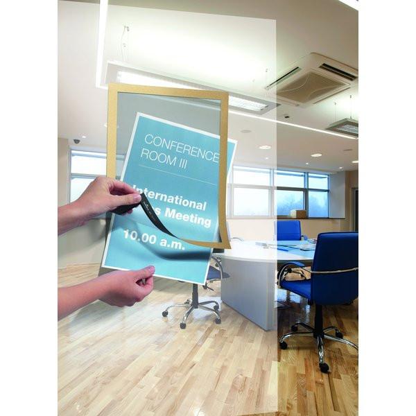 Cornici adesive magaframe durable a4 oro 4872 30 conf 2 - Cornici ufficio ...