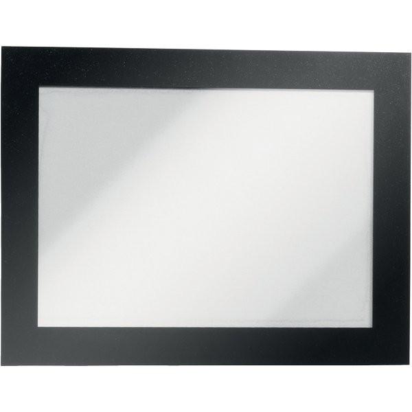 A4 Cornice Magnetica per Espositore Duraframe Magnetic 2 pezzi, argento per Superfici Lisce e Solide.