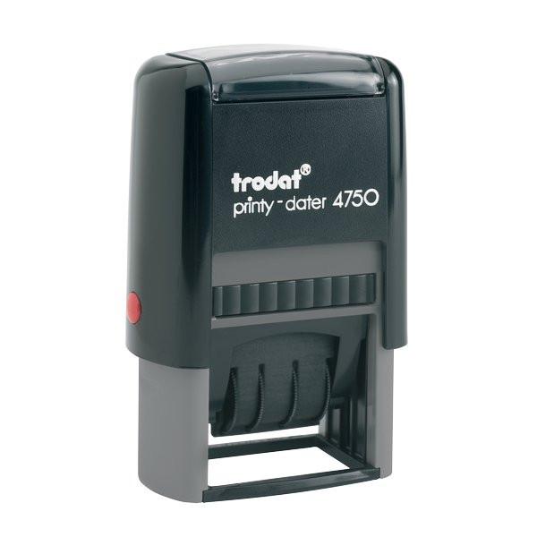 d3d4dbf8ed Datario autoinchiostrante con testo commerciale Printy 4750 Trodat ricevuto  TR4700