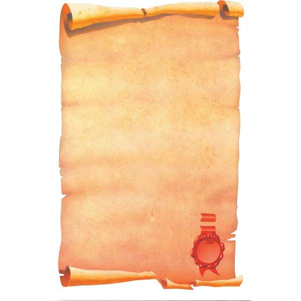 Carta pergamenata decadry a tema classic collection con for Fogli da colorare e stampare