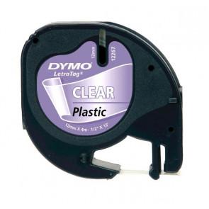 Nastri Letratag Dymo plastica trasparente S0721530