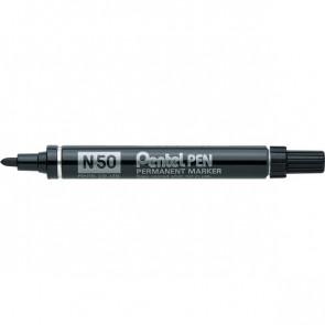 Marcatore permanente Pentel Marcatore N50 nero tonda 4,3 mm N50-A