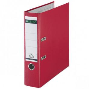 Registratore Leitz 180° Dorso 8 Commerciale F.to utile 23x30cm rosso 10105025