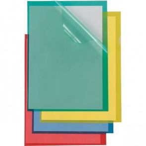 Cartelline a L Poli Colorato Sei Rota Formato A4 PPL verde 66232205 (conf.25)