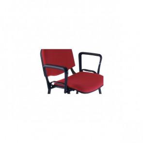 Coppia di braccioli per sedia visitatore Agata Ergosit nero BRAD500P- ACCBRDAF2