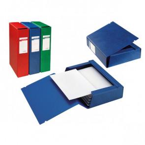 Cartelle portaprogetti Archivio 3L Sei Rota Dorso 12 25x35 cm blu 67312007