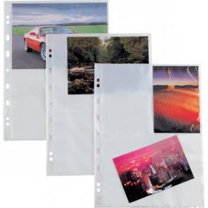 Buste trasparenti Atla F Sei Rota 4 spazi (15x21 cm) 662503 (conf.10)