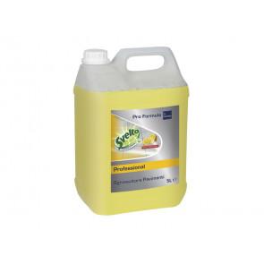 Sgrassatore pavimenti professionale fragranza limone Svelto 5 L giallo