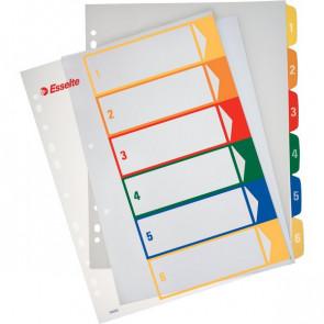 Rubrica numerica PPL Maxi stampabile al PC Esselte 6 tasti scrivibili 100212