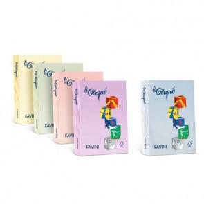 Carta colorata FAVINI LE CIRQUE per tutte le tecnologie di stampa 80 g/m? A4 rosa 108 500 fogli - A71S504