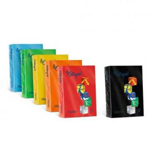 Carta colorata FAVINI LE CIRQUE per tutte le tecnologie di stampa 80 g/m? A4 giallo sole 202 500 fogli - A71B504